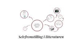 Copy of Selvfremstilling i litteraturen