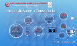 Introdução sobre a Consciência