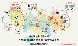 linea del tiempo del desarrollo de los sistemas de comunicac