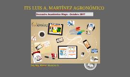Encuadre Académico  Octubre 2016 - Marzo 2017