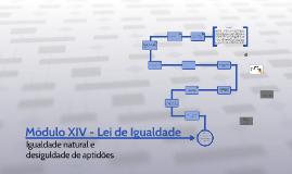 Módulo XIV - Lei de Igualdade