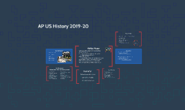 AP US History 2015-16