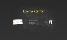 8th Hour: Academic Contract