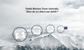 Youth Mission Team Australia