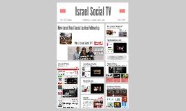 NIF SJF Israel Social TV Prezi