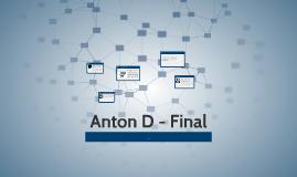 Anton D - Final