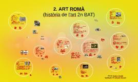 Tema 2. L'art romà