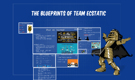 The Blueprints of our team
