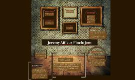 Jeremy Atticus Finch: Jem