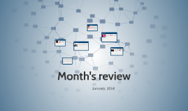 Month's review