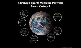 Adv. Sports Med Portfolio
