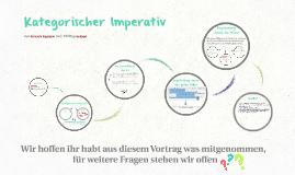 Copy of Kategorischer Imperativ