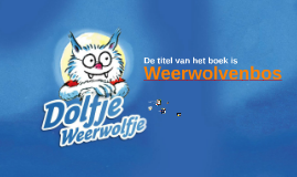 Boekbespreking Weerwolvenbos
