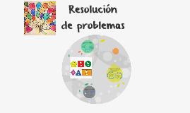 Copy of Resolución de problemas