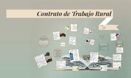 Contrato de Trabajo Rural