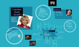 Is Joan Rivers Liberally Educated?