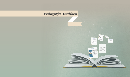 Copy of Pedagogía Analítica