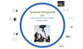 Domestic Energy Jobs Act