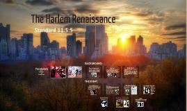 11.5.5 Harlem Renaissance