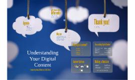 D-E Understanding Digital Content