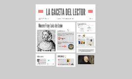 LA GACETA DEL LECTOR