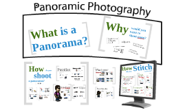 Panoramic Photography - An intro