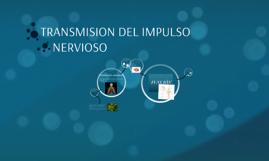TRANSMISION DEL IMPULSO NERVIOSO