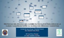 Copy of PROTOCOLO DEL PROCESO DEL CUIDADO NUTRICIO (PCN) PARA NIÑOS