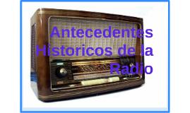 Antecedentes historicos de la radio
