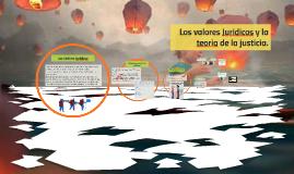 Copy of Los valores Juridicos y la teoria de la justicia.
