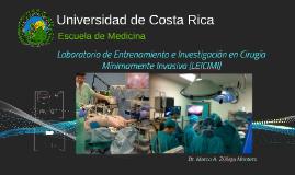 Curso de Laparoscopia BásicoCentro de Entrenamiento e Inves
