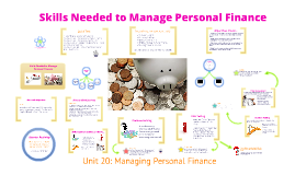 Skills Needed to Manage Personal Finance