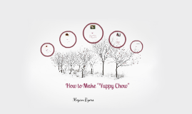 "Copy of How to Make ""Yuppy Chow"""