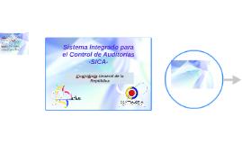 Sistema Integrado para el Control de Auditorías -SICA-