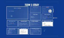 Term 3 Essay