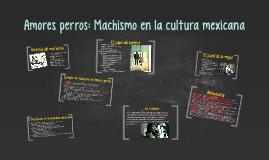 Amores perros: Machismo en la cultura mexicana