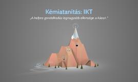 Kémiatanítás: IKT