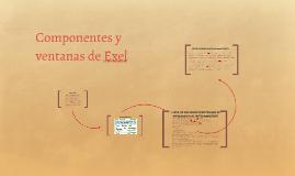 Componentes y ventanas de Exel