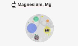 Magnesium, Mg