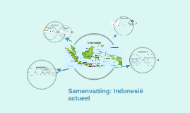 Copy of Samenvatting: Indonesië actueel