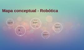 Mapa conceptual - Robotica