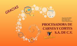 PROCESADORA DE CARNES Y CORTES S.A. DE C.V.