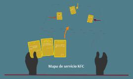 Mapa de servicio KFC