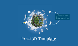 Copy of Copy of Prezi 3D TEMPLATE by sydo.fr