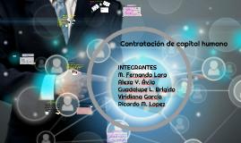 Contratación de capital humano