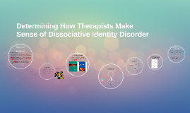 Determining How Therapists Make Sense of Dissociative Identi