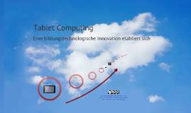 Tablet Computing