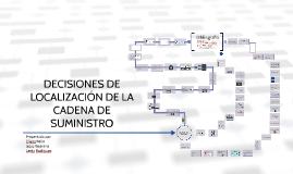 DECISIONES DE LOCALIZACIONES DE LA CADENA DE SUMINISTRO