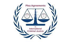 Plea bargaining ICC