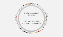A NEW LANGUAGE OF FORM